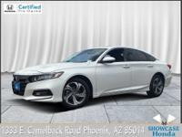 Certified. CARFAX One-Owner. Clean CARFAX. Accord EX.