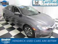 This Honda Civic is Certified Preowned! CARFAX 1-Owner!