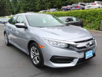 Check out this 2018 Honda Civic Sedan LX. Its Variable