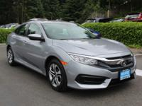 Come see this 2018 Honda Civic Sedan LX. Its Variable
