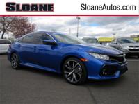 Civic Si, 4D Sedan, 1.5L Turbocharged, 6-Speed