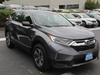 Check out this certified 2018 Honda CR-V LX. Its