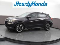 2018 Honda HR-V EX Mulberry Metallic Clean CARFAX.