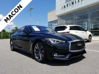 INFINITI OF MACON IS OFFERING THIS 2018 INFINITI Q60