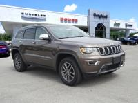 2018 Jeep Grand Cherokee Limited 4WD.  ABS Brakes