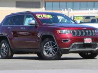 CARFAX One-Owner. Clean CARFAX. Red 2018 Jeep Grand
