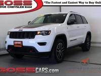 Bright White Clearcoat 2018 Jeep Grand Cherokee