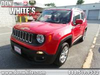 CERTIFIEDColorado Red 2018 Jeep Renegade Latitude 4WD