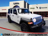 Jeep Certified, CARFAX 1-Owner, LOW MILES - 2,702! FUEL