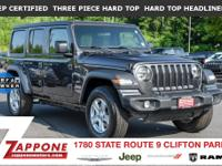 JEEP CERTIFIED! * ONE OWNER/CLEAN CARFAX * REMAINING