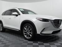 Certified. Snowflake White Pearl 2018 Mazda CX-9 Grand