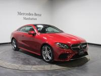 Certified. Cardinal Red 2018 Mercedes-Benz E-Class E