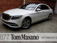 PREMIUM & DRIVER ASSIST PACKAGES!MODEL: 2018 S560V4