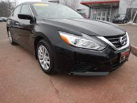 Certified. Super Black 2018 Nissan Altima 2.5 S FWD CVT