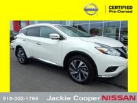 2018 Nissan Murano Platinum This car has all you could