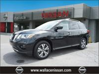Certified. CARFAX One-Owner.Magnetic Black 2018 Nissan
