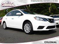 Check out this Certified Used 2018 Nissan Sentra S