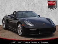 2018 Porsche 718 Boxster S in BlackRear Wheel Drive,
