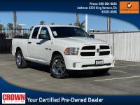 Certified. Bright White Clearcoat 2018 Ram 1500 Express