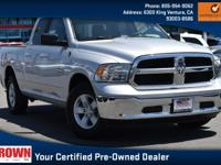 Certified. Bright Silver Metallic Clearcoat 2018 Ram