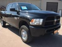 Tradesman trim. Ram Certified, CARFAX 1-Owner. PRICED