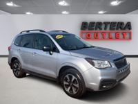 2018 Subaru Forester Ice Silver Metallic 2.5i Rear