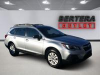 2018 Subaru Outback Ice Silver Metallic 2.5i Rear