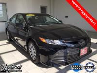2018 Toyota Camry in Black, Bluetooth, USB, Aux
