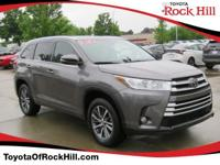 We are excited to offer this 2018 Toyota Highlander.
