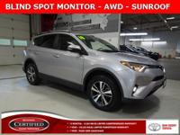 * TOYOTA CERTIFIED *, * AWD *, * SUNROOF/MOONROOF *, *