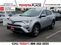 Certified. RAV4 Clean CARFAX. Silver Panoramic Roof /