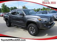 We are excited to offer this 2018 Toyota Tacoma. This