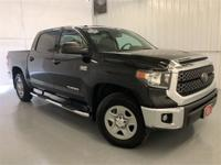 Midnight Black Metallic 2018 Toyota Tundra SR5 4WD