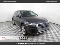 Premium Plus with Navigation and Audi Blind spot CARFAX