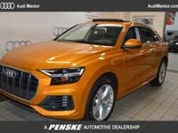 2019 Audi Q8 Premium Plus quattro:CARFAX One-Owner.