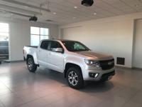 Clean CARFAX. Certified. Colorado Z71, 4D Crew Cab, V6,