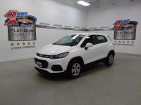 Certified. White 2019 Chevrolet Trax LS FWD 6-Speed