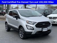 Clean One Local Owner CarFax, 2019 Ecosport SES 4WD