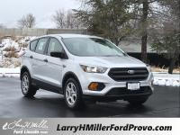 Ingot Silver Metallic 2019 Ford Escape S FWD 6-Speed