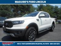 Certified. White Platinum Tri-Coat 2019 Ford Ranger