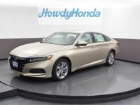 2019 Honda Accord LX Champagne Frost Pearl Clean
