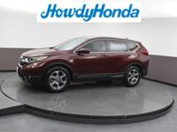 2019 Honda CR-V EX Basque Red Pearl Ii Clean CARFAX.