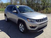 Recent Arrival! 2019 Jeep Compass Latitude Gray 4WD.