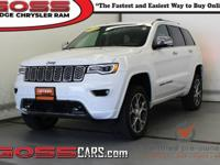 Bright White Clearcoat 2019 Jeep Grand Cherokee