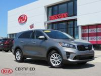 2019 Kia Sorento LX Black 8-Speed Automatic, 50/50