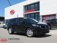 2019 Kia Sorento LX Black ABS brakes, Alloy wheels,