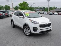 2019 Kia Sportage LX Clear WhiteCertified. Kia