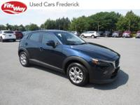 2019 Crystal Blue Mazda CX-3 6-Speed Automatic One