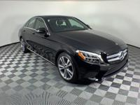 2019 Mercedes-Benz C-Class. This C 300 C-Class is Black