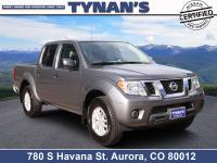 Our amazing 2019 Nissan Frontier SV Crew Cab 4X4 serves